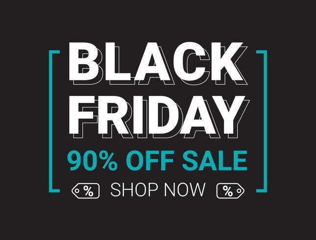 Modèle de conception mise en page de vente vendredi noir vente, illustrations de plat style vector illustration.
