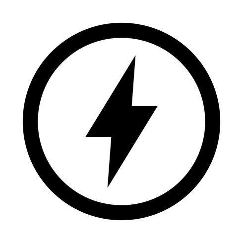 Lightning bolt icon - Download Free Vector Art, Stock Graphics & Images