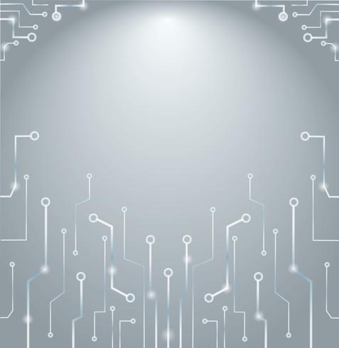 Technologie abstraite lignes art et espace de fond