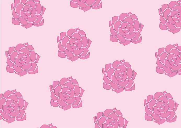 flor preciosa fondo pastel