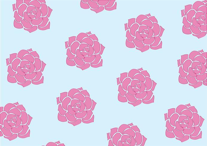 schöne Blume Pastell Hintergrund vektor
