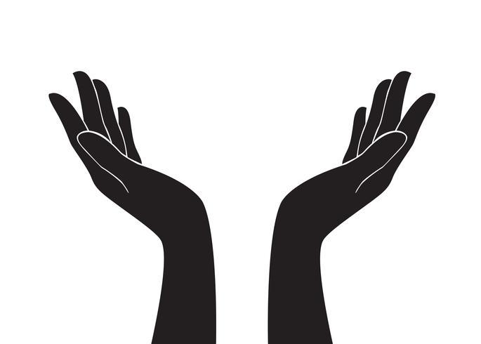gratis handen kunst vector