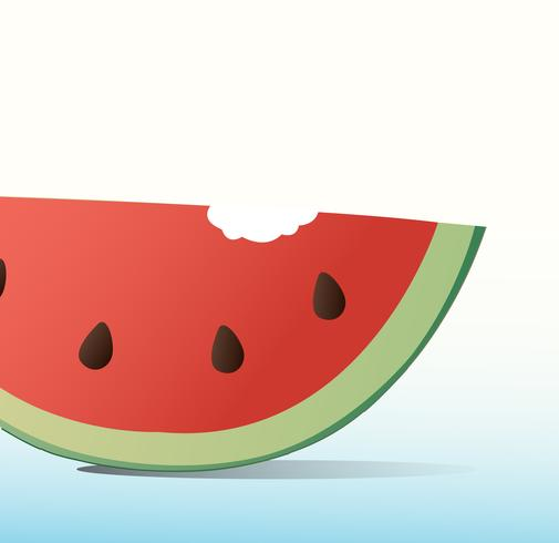 watermelon cartoon background