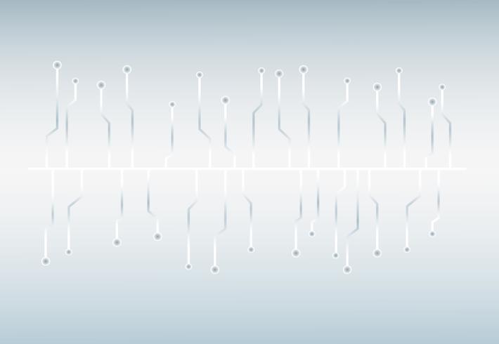 Fondo de sonido de onda de tecnología