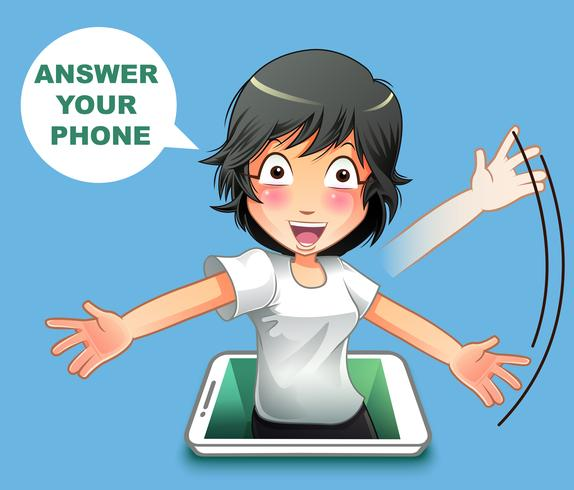 Contesta tu teléfono.