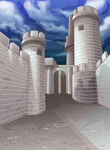 fästning. vektor