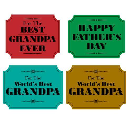 etiquetas do dia dos pais do vovô