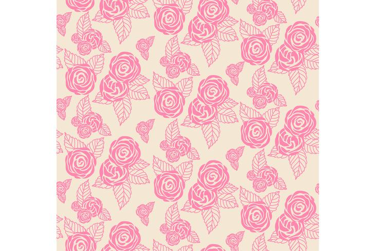 Floral print texture