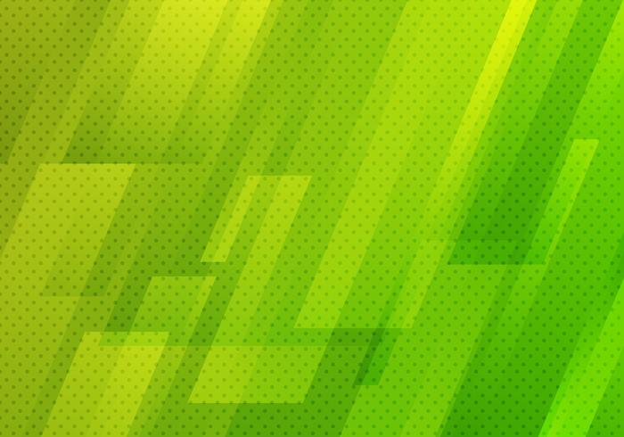 Abstract green geometric diagonal with dots pattern texture background modern digital technology style. vector