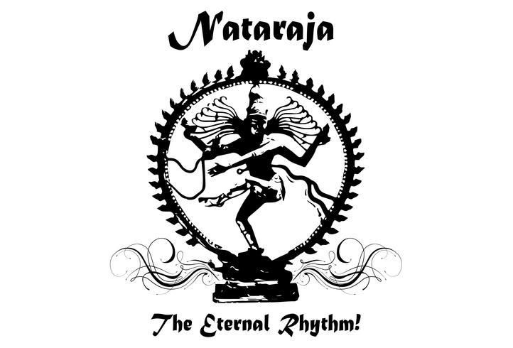 Silhouette Nataraja