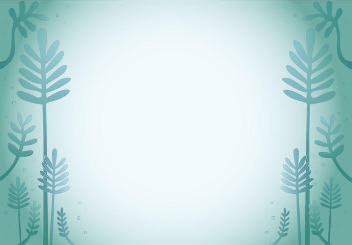 fundo de desenho de folha verde dos desenhos animados