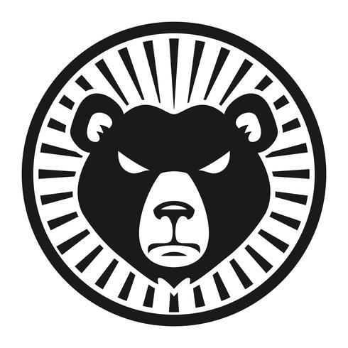 Grizzlybärgreifer-Vektorillustration