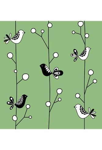 Bird print seamless texture