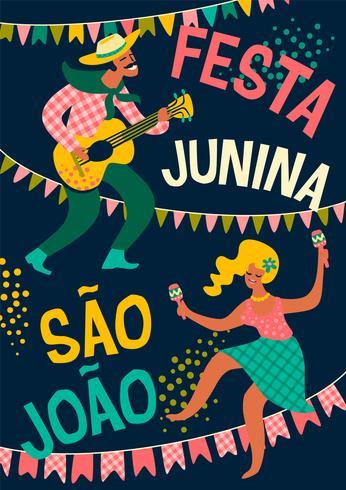 Latijns-Amerikaanse vakantie, het junifeest van Brazilië. Festa Junina.