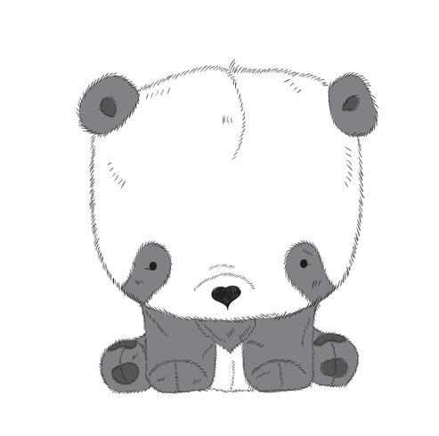 Mignon Petit Panda Telecharger Vectoriel Gratuit Clipart