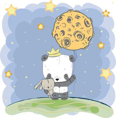 pequeño y lindo panda
