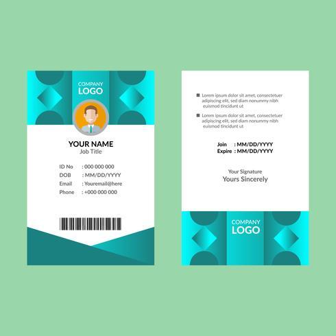 Cyan Awesome ID-kortmall 09