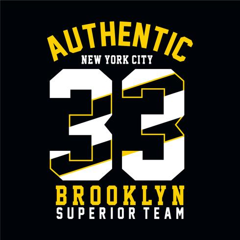 Camiseta de new york city, gráfico de brooklyn.