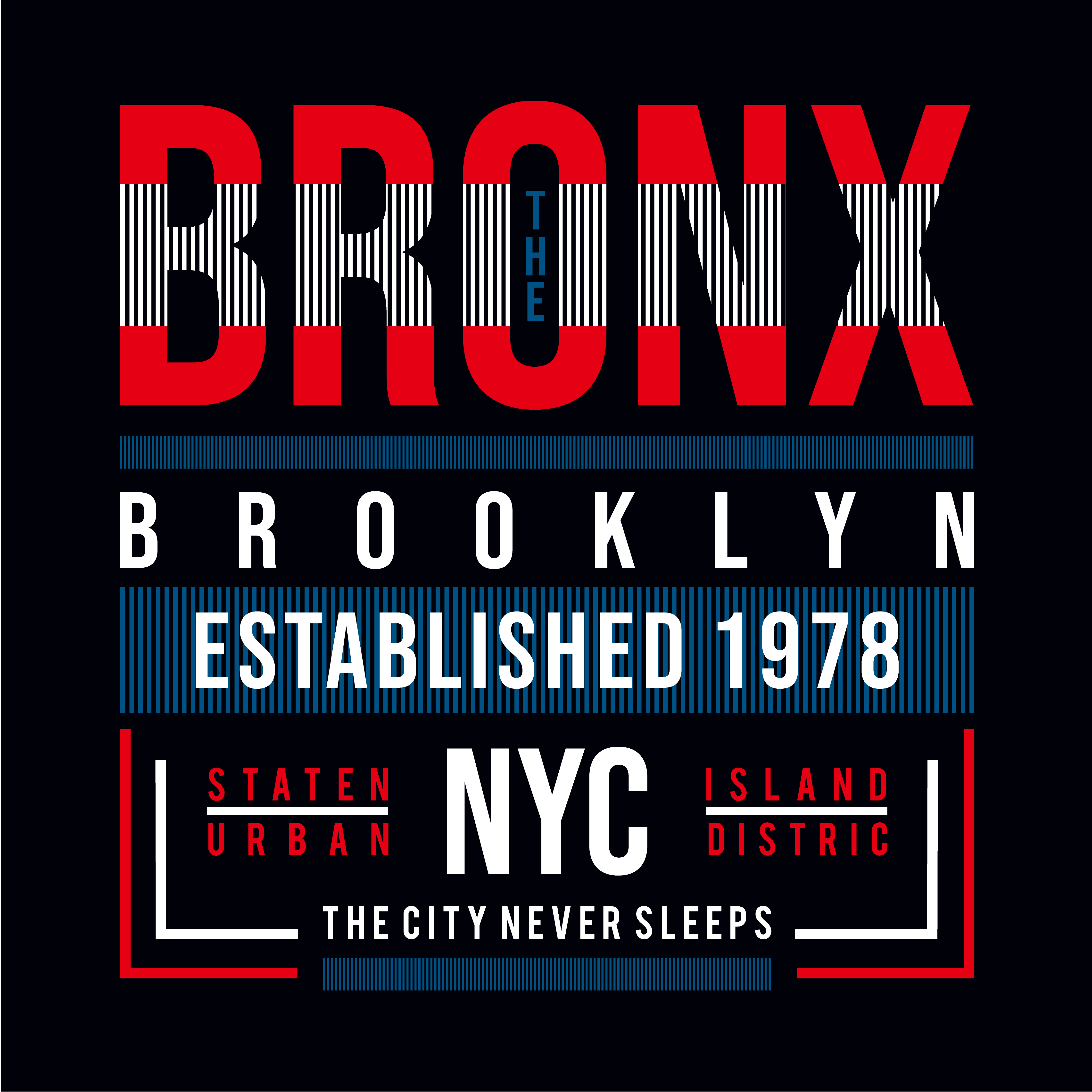 104b485b Bronx,brooklyn,new york tee,element graphic t shirt print - Download Free  Vector Art, Stock Graphics & Images