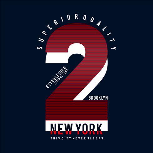 Camiseta de new york city, gráfico de brooklyn.