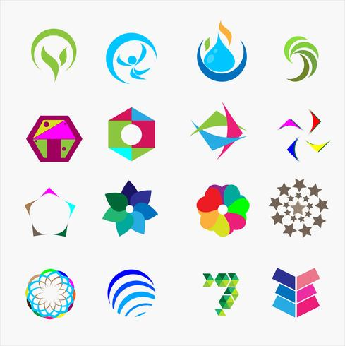 Satz von Logo-Vektor