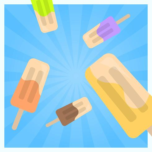 Popsicles vector