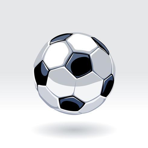 Arte de vetor de bola de futebol