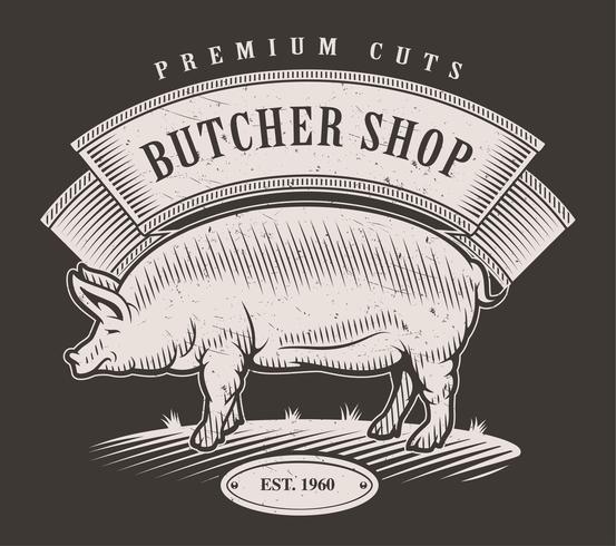 Emblema de la carnicería