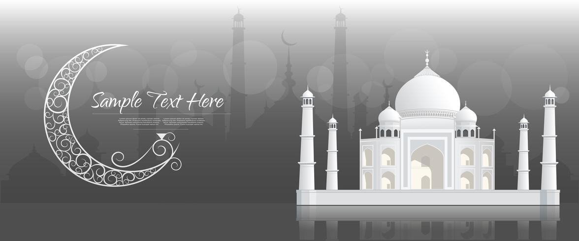 Ramadan Kareem greeting banner, Ramadan Kareem  Background vector