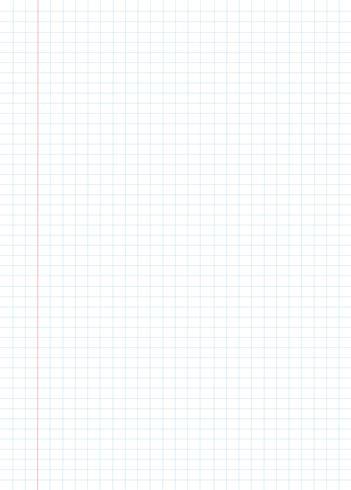 blaue Gitterpapiermusterhintergrund-Vektorillustration