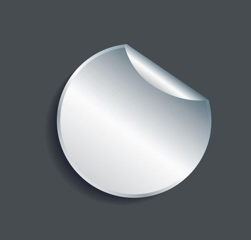illustrazione di vettore del fondo della bandiera del metallo della piastra