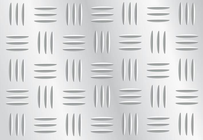 Ilustración de vector de fondo de placa metálica