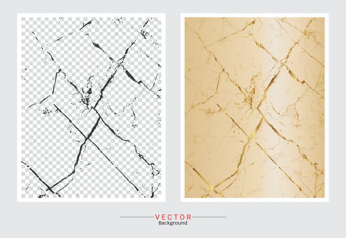 Marmer met gouden textuurachtergrond.