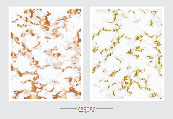 Gold marble texture background. vector