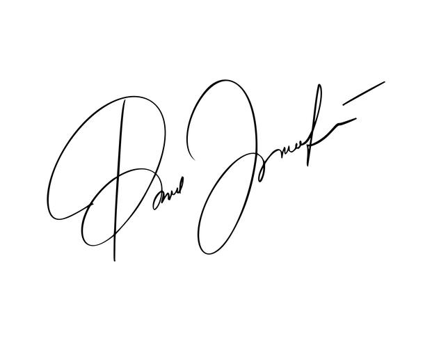Signature manuelle pour les documents sur fond blanc. Lettrage de calligraphie dessiné à la main illustration vectorielle