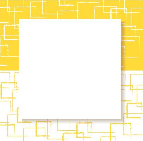 astratto sfondo quadrato giallo vettore