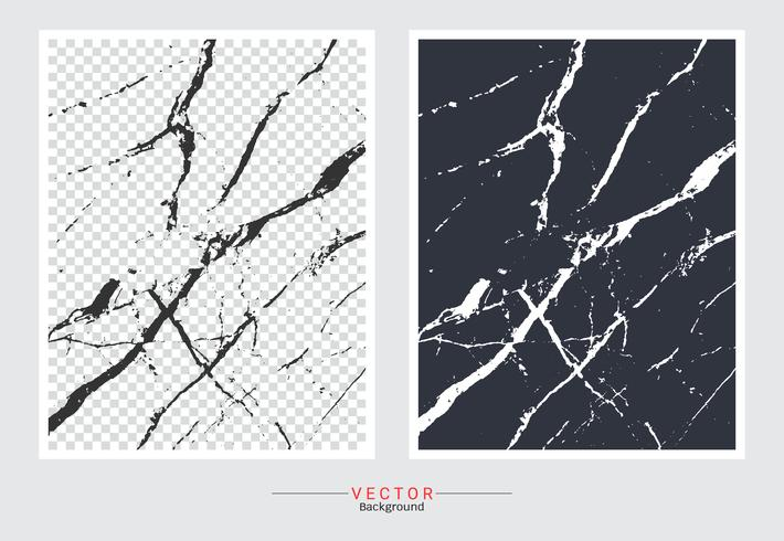 Black and white marble cover background. vector