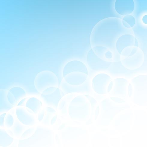 Sfondo astratto blu chiaro vettore