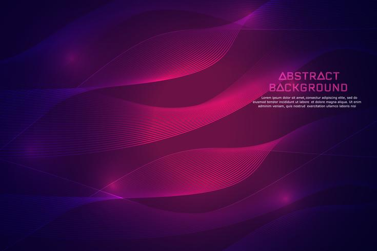 Abstract technology background. Glowing light background.