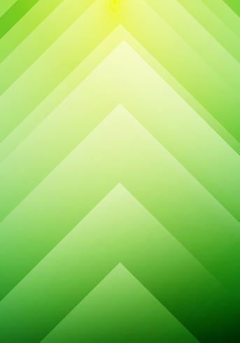 Fondo verde astratto di concetto di direzione delle frecce di ecologia. È possibile utilizzare per brochure, leaftlet, flyer, presentazioni, banner web, poster, ecc.
