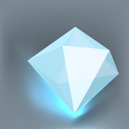 3 dimension of polygon vector. vector