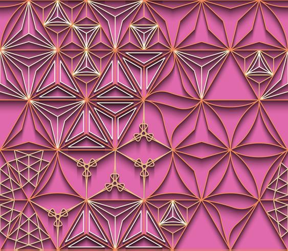 Linea poligonale e sfondo senza soluzione di continuità. vettore