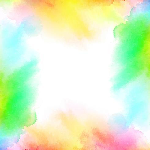 Fundo colorido abstrato aquarela
