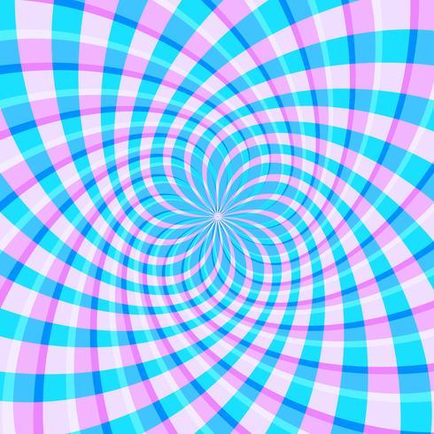 Fond de vecteur illusion optique holographique