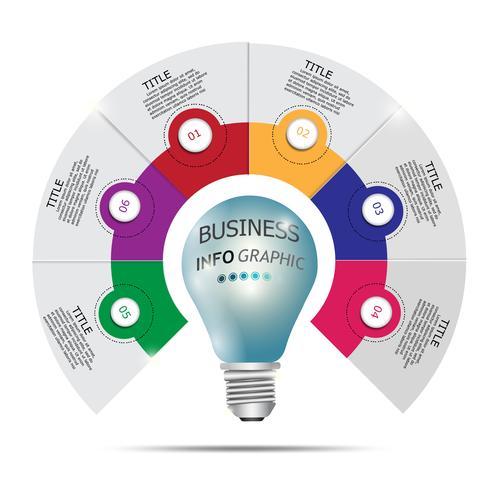 Infografiken Vektor-Design und Marketing-Ikonen