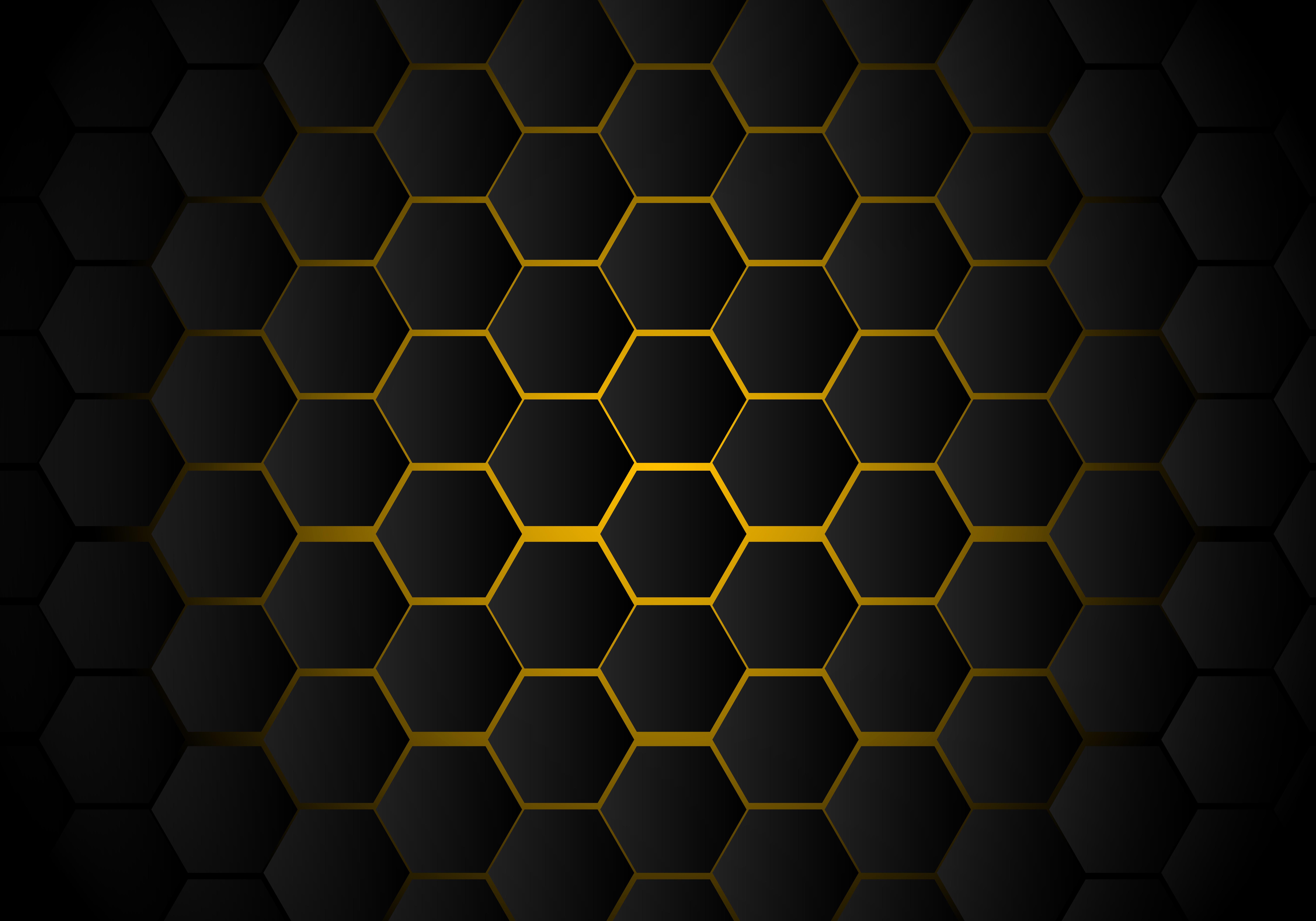 Wallpaper beehive white yellow honeycomb hexagon #ffff00 # ... |Yellow Honeycomb Wallpaper