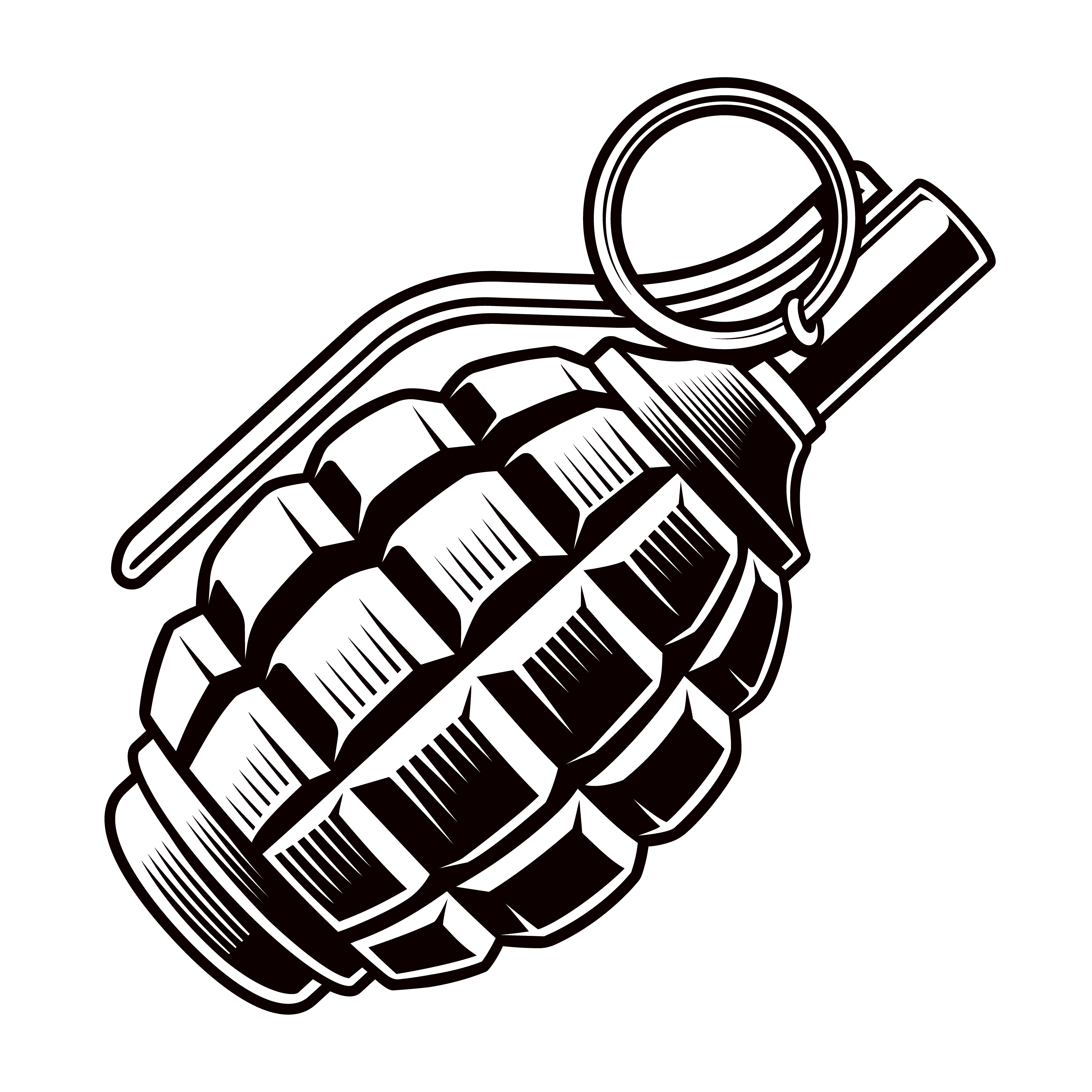 Grenade vector - Download Free Vectors, Clipart Graphics ...