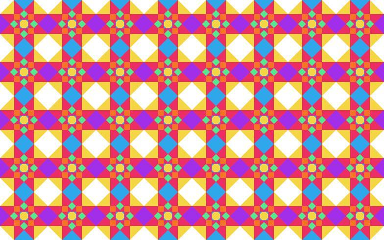Vector la ilustración del fondo inconsútil geométrico colorido abstracto del modelo