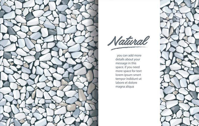 grey gravel texture wallpaper and space for write. vector
