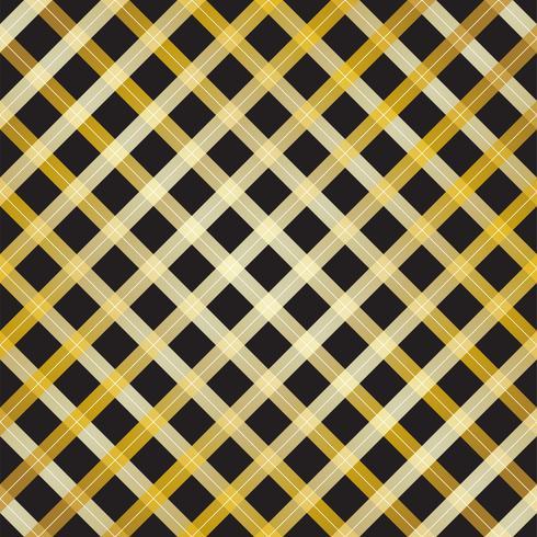 Resumen diseño de línea de cruz de oro sobre fondo negro - ilustración vectorial